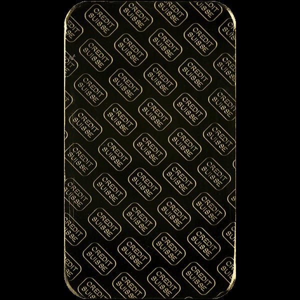GOLD BARS 10 OZ 10 OZ GOLD BAR CREDIT SUISSE Reverse