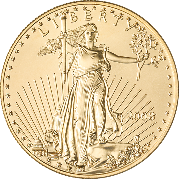 American Gold Eagle 1 Oz Common Date