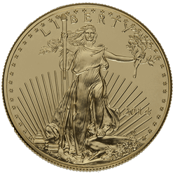 Gold Eagles $54 Over Spot!