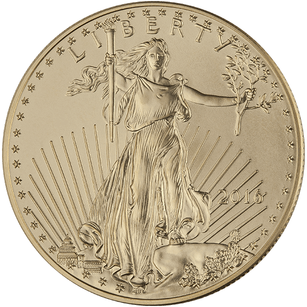 American Gold Eagle 1 Oz 2016