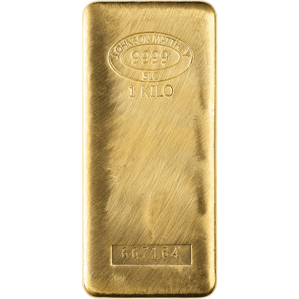 GOLD BARS ASSORTED WEIGHTS KILO GOLD BAR Obverse