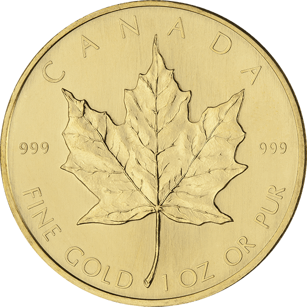 CANADIAN GOLD 1 OZ CANADIAN GOLD MAPLE LEAF Obverse