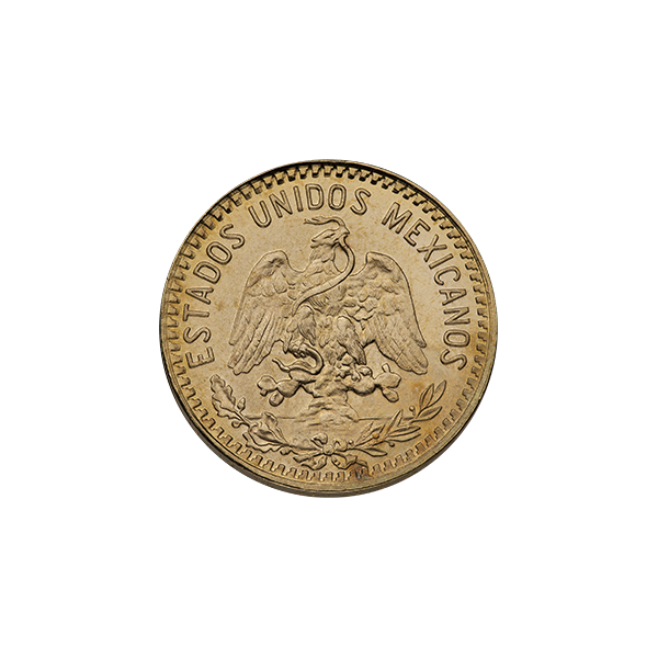 MEXICAN GOLD 5 PESO MEXICAN GOLD COIN Reverse