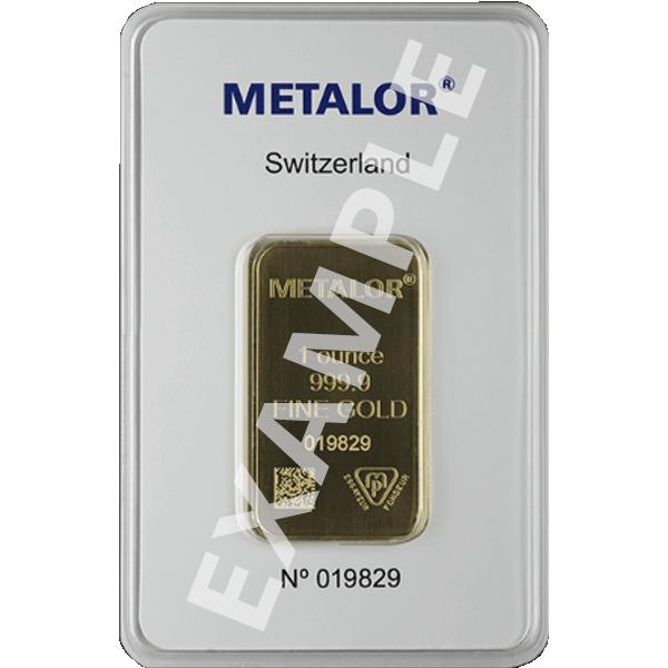 GOLD BARS 1 OZ 1 OZ GOLD BAR LBMA/RSP ELIG Obverse