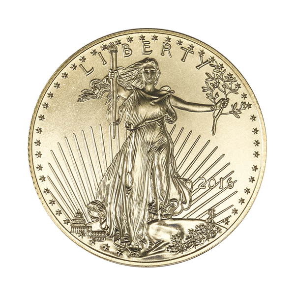 AMERICAN GOLD EAGLE 1/2 OZ AMERICAN GOLD EAGLE Obverse