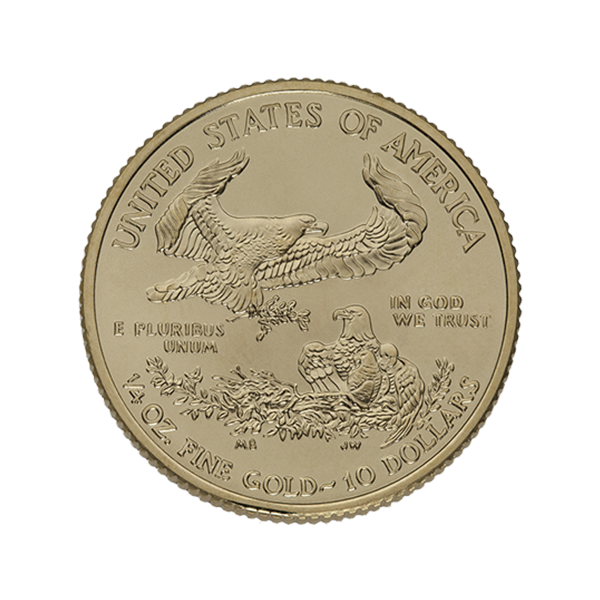 AMERICAN GOLD EAGLE 1/4 OZ AMERICAN GOLD EAGLE Reverse