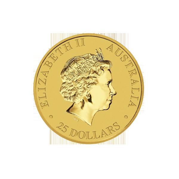 AUSTRALIAN GOLD 1/4 OZ AUSTRALIAN GOLD KANGAROO (IN PLASTIC) Obverse