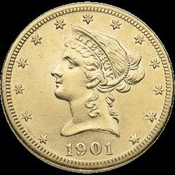 U.s. Gold XF $10 Liberty