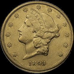 U.s. Gold VF $20 Liberty