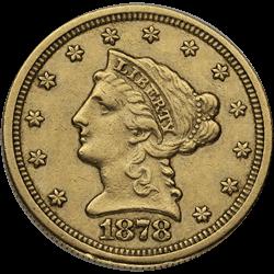 U.s. Gold XF $2.5 Liberty