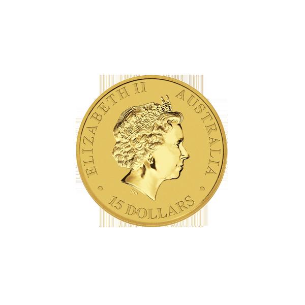 AUSTRALIAN GOLD 1/10 OZ AUSTRALIAN GOLD KANGAROO Reverse