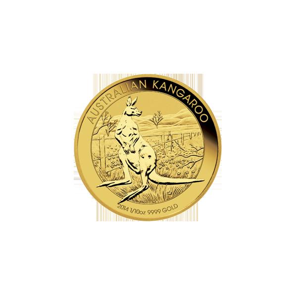 AUSTRALIAN GOLD 1/10 OZ AUSTRALIAN GOLD KANGAROO Obverse