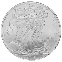 1 Oz. American Silver Eagle Common Date