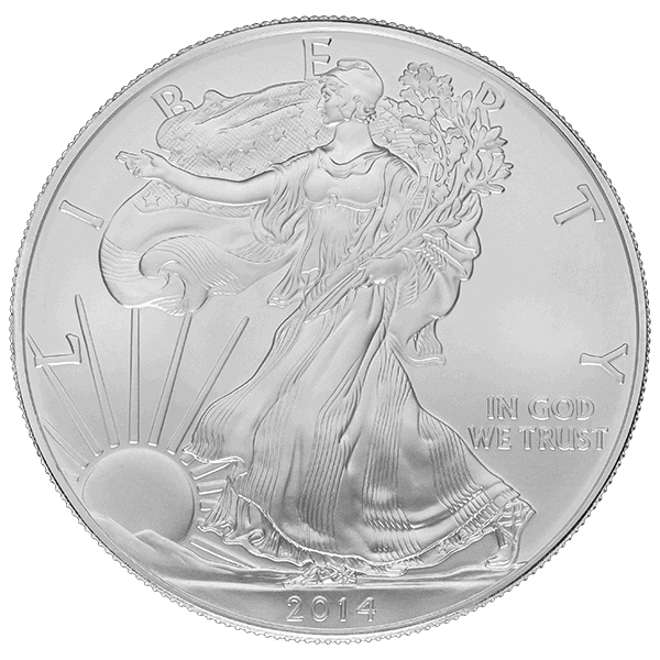 American Silver Eagle 1 Oz Common Date