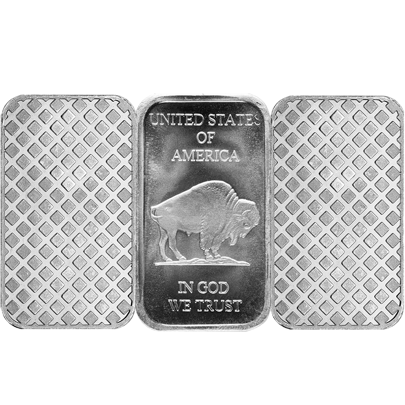 SILVER BARS 1 OZ 1 OZ SILVER BAR Reverse