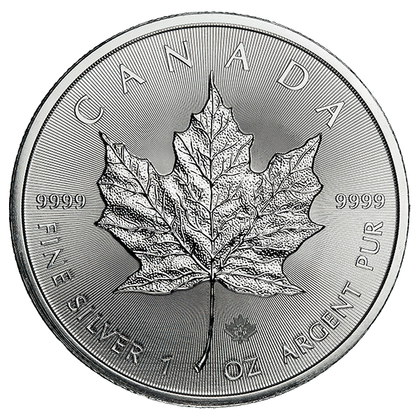 Canadian Silver Maple Leaf 1 Oz Common Date