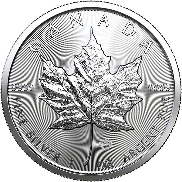 CANADIAN SILVER 2019 1 OZ CANADIAN SILVER MAPLE LEAF Obverse